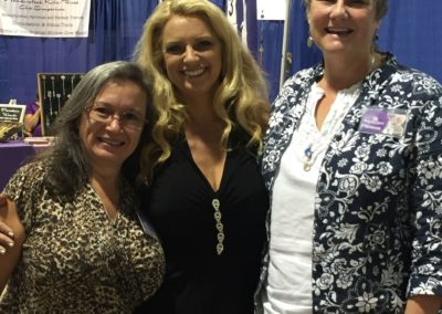 Dr. Rose With Teachers Gail Thackray & Sheree Brunner